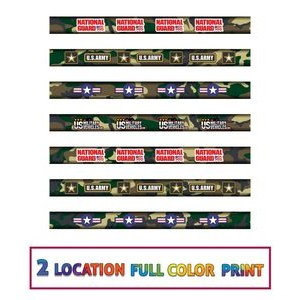 "Carpenter ""Camo"" Pencils #2 lead - Full color Print"