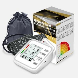 Blood Pressure Monitor Upper Arm, Digital Irregular Heart Beat Detection with Large Display