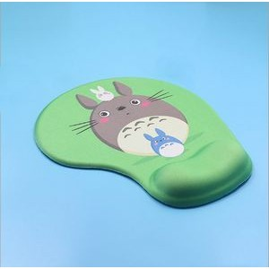 Full Color Ergonomic Memory Foam Mouse Pad with Wrist Rest