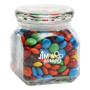 M&Ms® Plain in Sm Glass Jar
