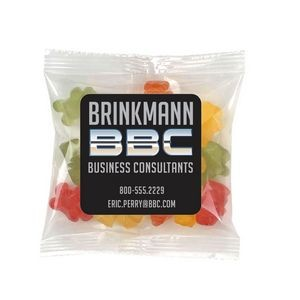 Gummy Bears in Sm Label Pack