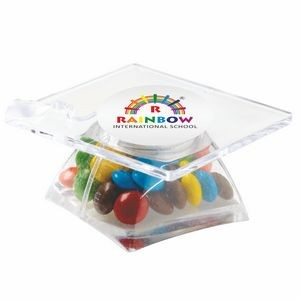 Graduation Cap Container - Mini M&M's