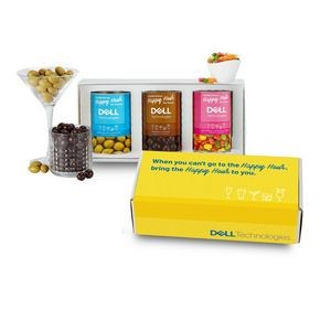 3 Way Boozy Snacks Gift Set in Mailer Box - Cocktail Lovers