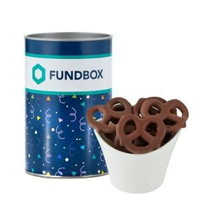 "4"" Snack Tube Collection- Milk Chocolate Pretzels"