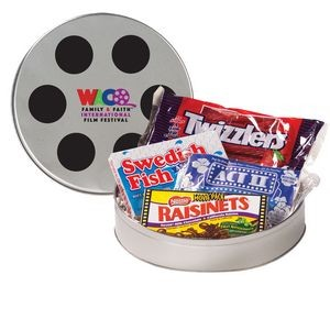 Large Film Reel Tin - Movie Pack