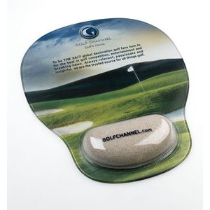 Combo-Padz Mousepad w/Bunker Sand Filled Wrist Rest