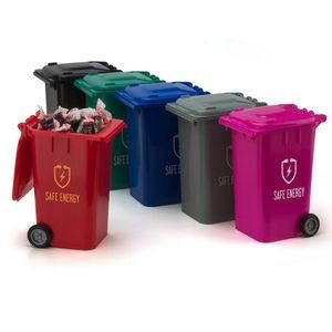 Garbage Can Candy Container