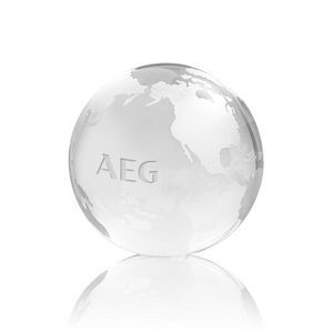 Globe Paperweight - Optical 2-3/8""