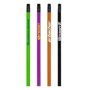 Dart Round Pencil - Black Eraser