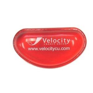 COLORFUL Small Gel Wrist Rest - Red